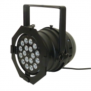 CR LED PAR64 RGBW 18x8W 4in1