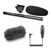 Sennheiser MKE 600 Kamera-Richtmikrofon Bundle