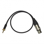 cr-Eco Adapterkabel  XLR-Miniklinke 60cm