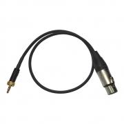 cr-Eco Audiokabel XLR-Miniklinke 60cm