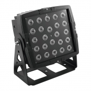 EUROLITE LED IP PAD 24x8W QCL Architektur Scheinwerfer