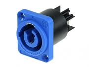 Neutrik NAC3MPA-1 Powercon Einbaubuchse blau