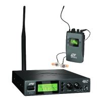 JTS SIEM-111/2 MPX-Stereo-UHF-PLL-In-Ear-Monitoring-System