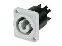 Neutrik NAC3MPB-1 Powercon Einbaubuchse grau